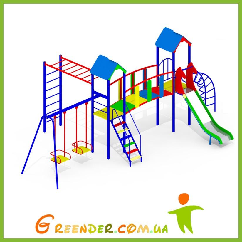 Спортивный игровой детский комплекс на улицу I106