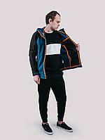 Мужская куртка Urban Planet - WM7 SOFTSHELL BLACK/DEEP