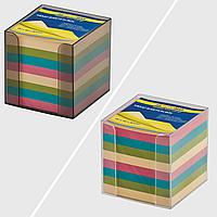 Бокс з кольоровим папером 90х90х90мм