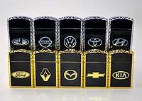 Газовая зажигалка с марками авто