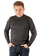 Свитер мужской полировка LONN антрацит Размеры M
