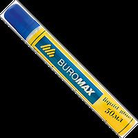 """Клей силікатний 50 мл """"JOBMAX"""" BUROMAX, з губкою"""
