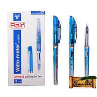"""Гелевая ручка """"Flair Sporty Writo meter"""" 1.5 км  синяя \12уп,144бл,1152ящ"""
