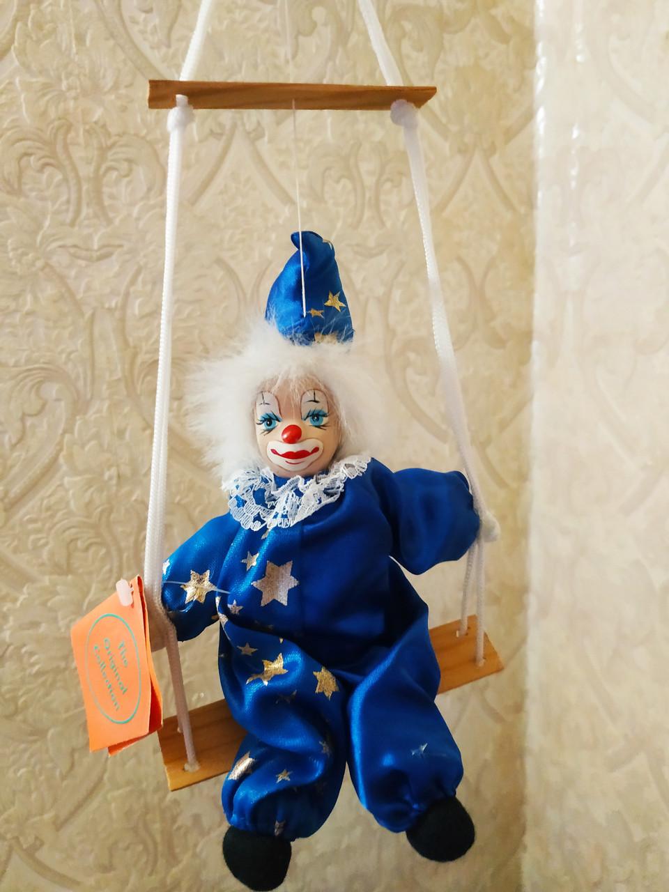 Клоун на качели 20 см.