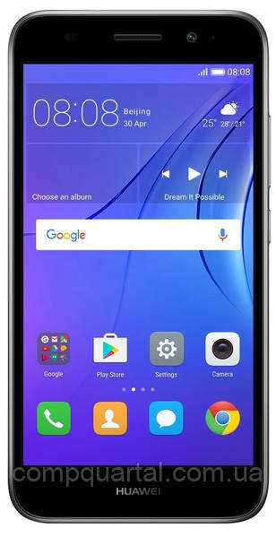 Смартфон Huawei Y3 2017 Dual Sim (CRO-U00 grey) Grey