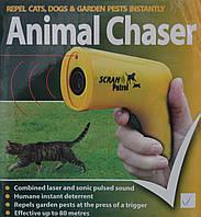 Отпугиватель ультразвуковой собак и кошек Digital NY-0027 Желтый