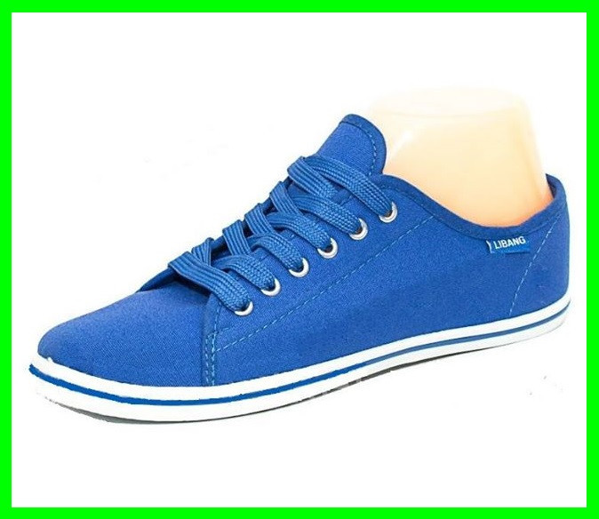 Женские Кроссовки Libang - 49 BLUE (36р - 41р) 37