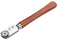 Стеклорез 130 мм 6 резаков деревянная ручка Tolsen (41030)