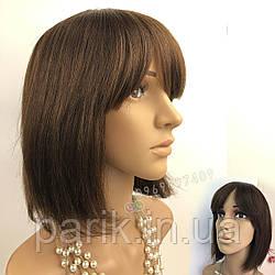 💎 Женский парик каре коричневый из натуральных волос 💎