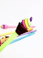 Ручка с мороженым детская «Green  ice cream »