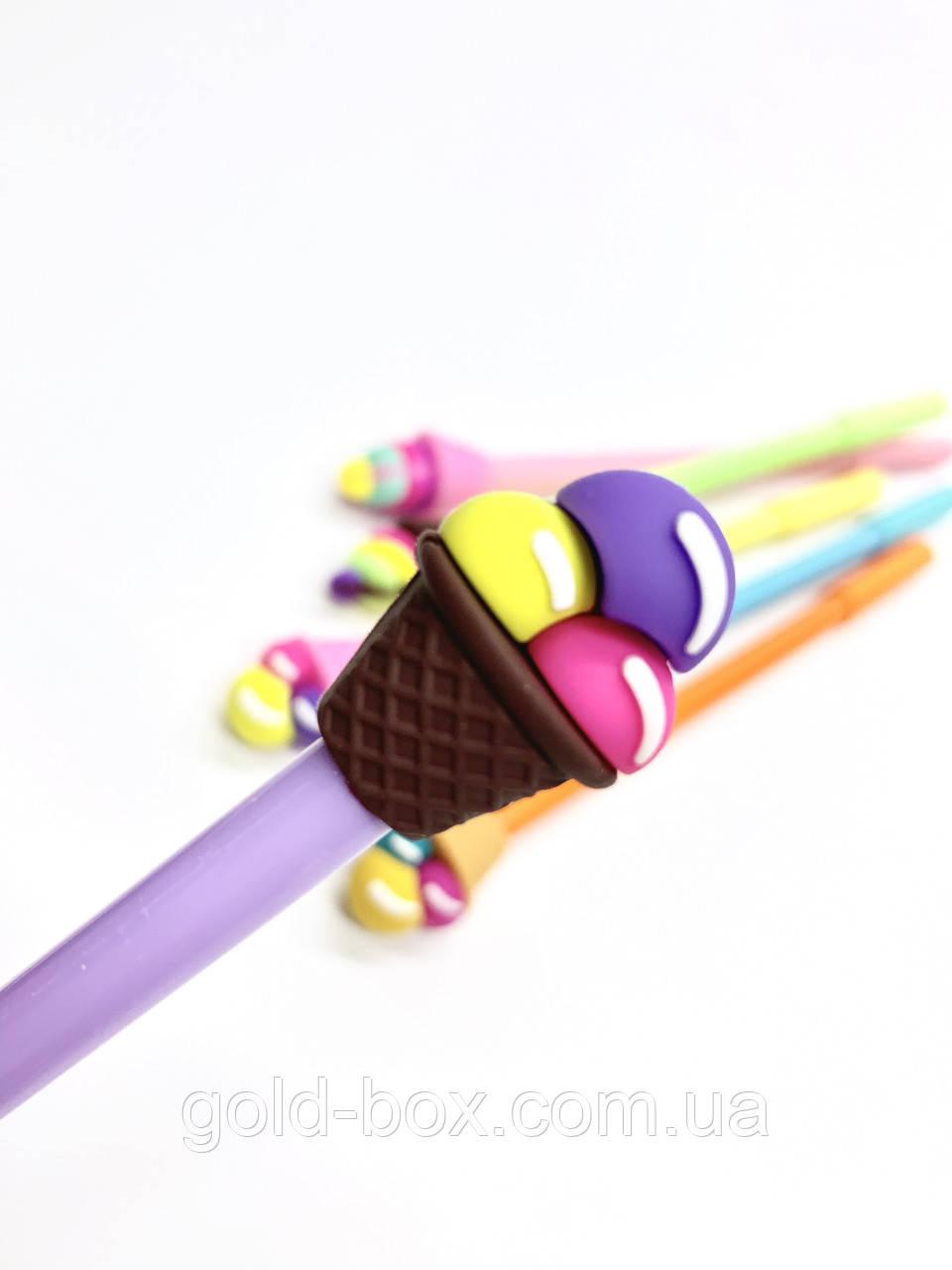 Десткая ручка с мороженым «Purple ice cream »
