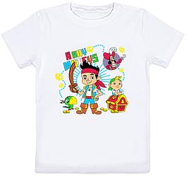 """Детская футболка """"Ahoy, Mateys!"""" (белая)"""