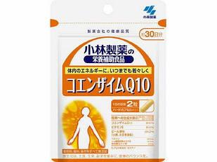 Kobayashi  Коэнзим Q10 (60 мг на 2 капс) + витамин Е + пивные дрожжи + бетаин  60 капсул на 30 дней