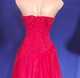 Вечернее платье, красное., фото 3