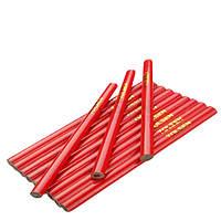 Комплект плотницких карандашей 180 мм, овальные 12 шт Tolsen (42021)