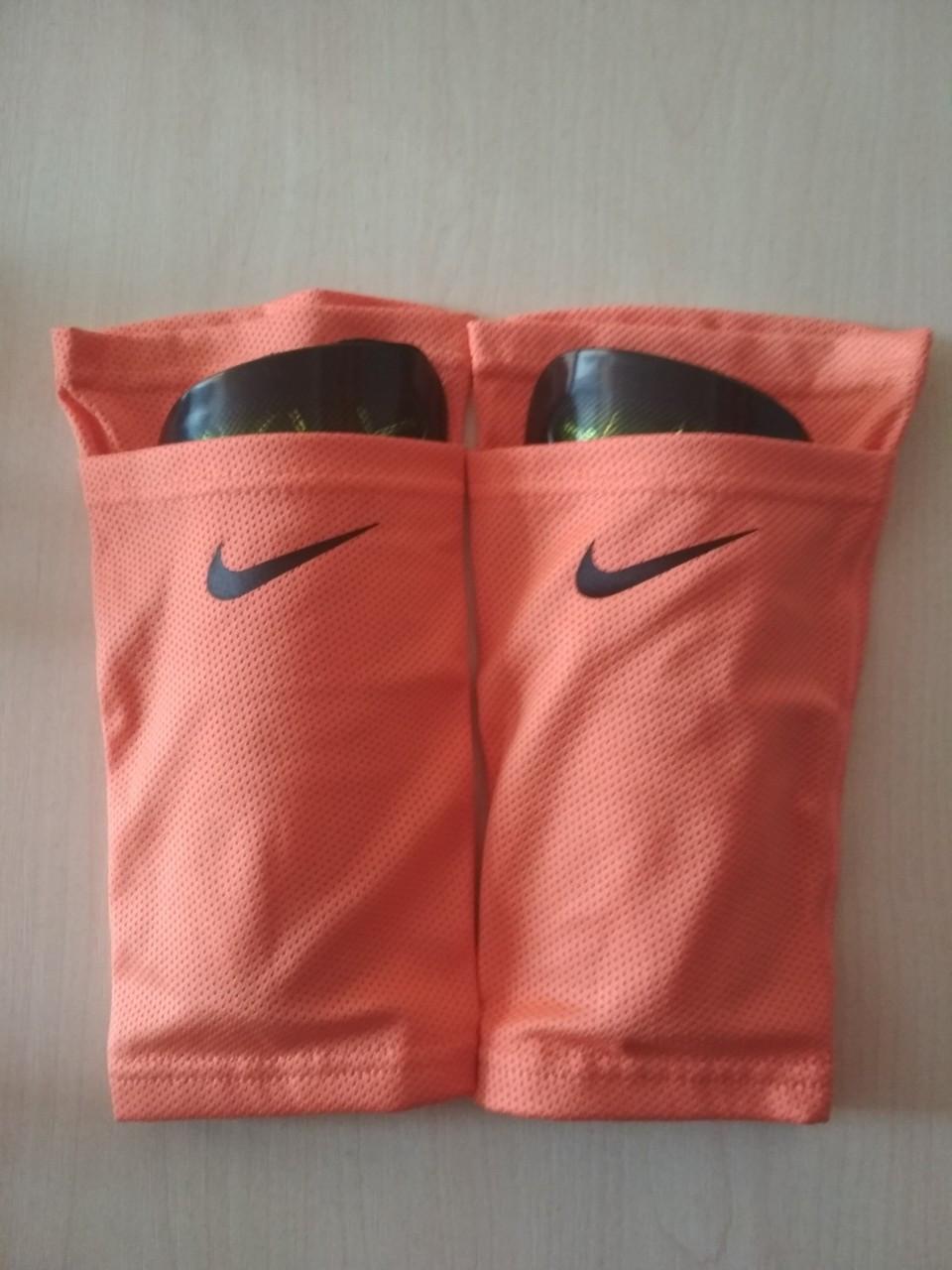 Держатели для щитков Nike реплика оранжевые