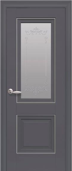 Межкомнатные двери со стеклом сатин Имидж