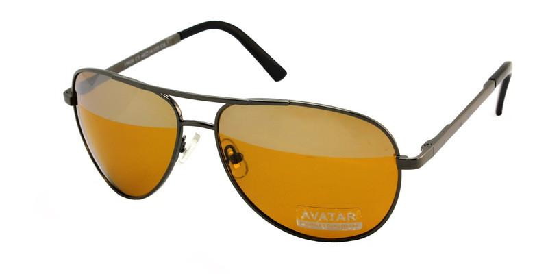 Очки для водителя ночью антифары Avatar Polaroid