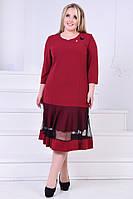 Женское платье креп батал, фото 1
