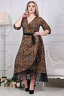 Женское платье трикотаж батал, фото 1