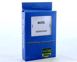 Конвертер Преобразователь с VGA в HDMI - 5027, фото 2