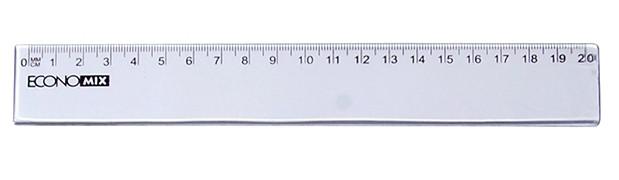 Лінійка алюмінієва, 20 см