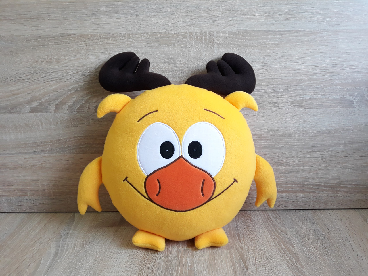 Мягкая игрушка - подушка Смешарики Лосяш ручная работа