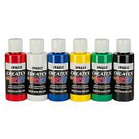 Набор красок для аэрографии Createx Airbrush Colors - Opaque Set (непрозрачные цвета), фото 1
