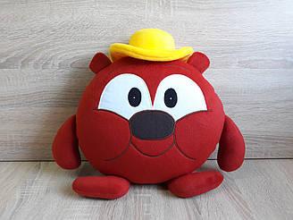 Мягкая игрушка - подушка Смешарики медведь Копатыч ручная работа