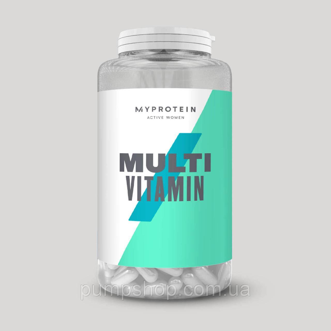 Вітаміни для жінок Myprotein Active Woman 120 капс.