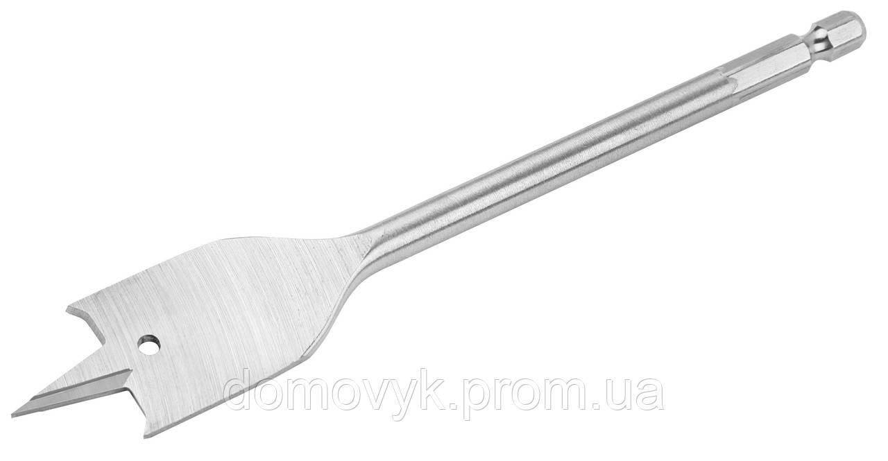 Сверло по дереву плоское перьевое 22 мм Tolsen (75641)