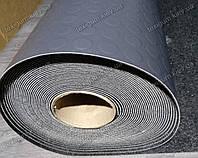Дорожка резиновая транспортный линолеум Круги темно-серый