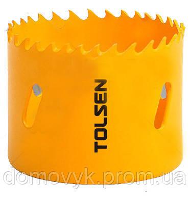 Биметаллическая коронка 24 мм Tolsen (75724)