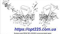 Оригинальние запчасти УПС Веста СУПА 00.1230 Блок звездочек механизма передач  (5-ной t=15.875) (СУПН, УПС, ССТ)
