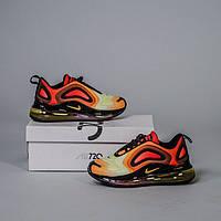 Женские кроссовки в стиле Nike Air Max 720 Sunrise (Топ качество)