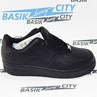 Женские кроссовки Nike Air Force черные