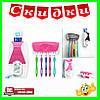 Диспенсер для зубной пасты и щеток автоматический Jin Xin - 300