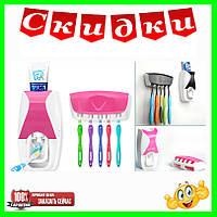 Диспенсер для зубной пасты и щеток автоматический Jin Xin - 300, фото 1