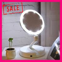 Зеркало с LED подсветкой круглое, фото 1