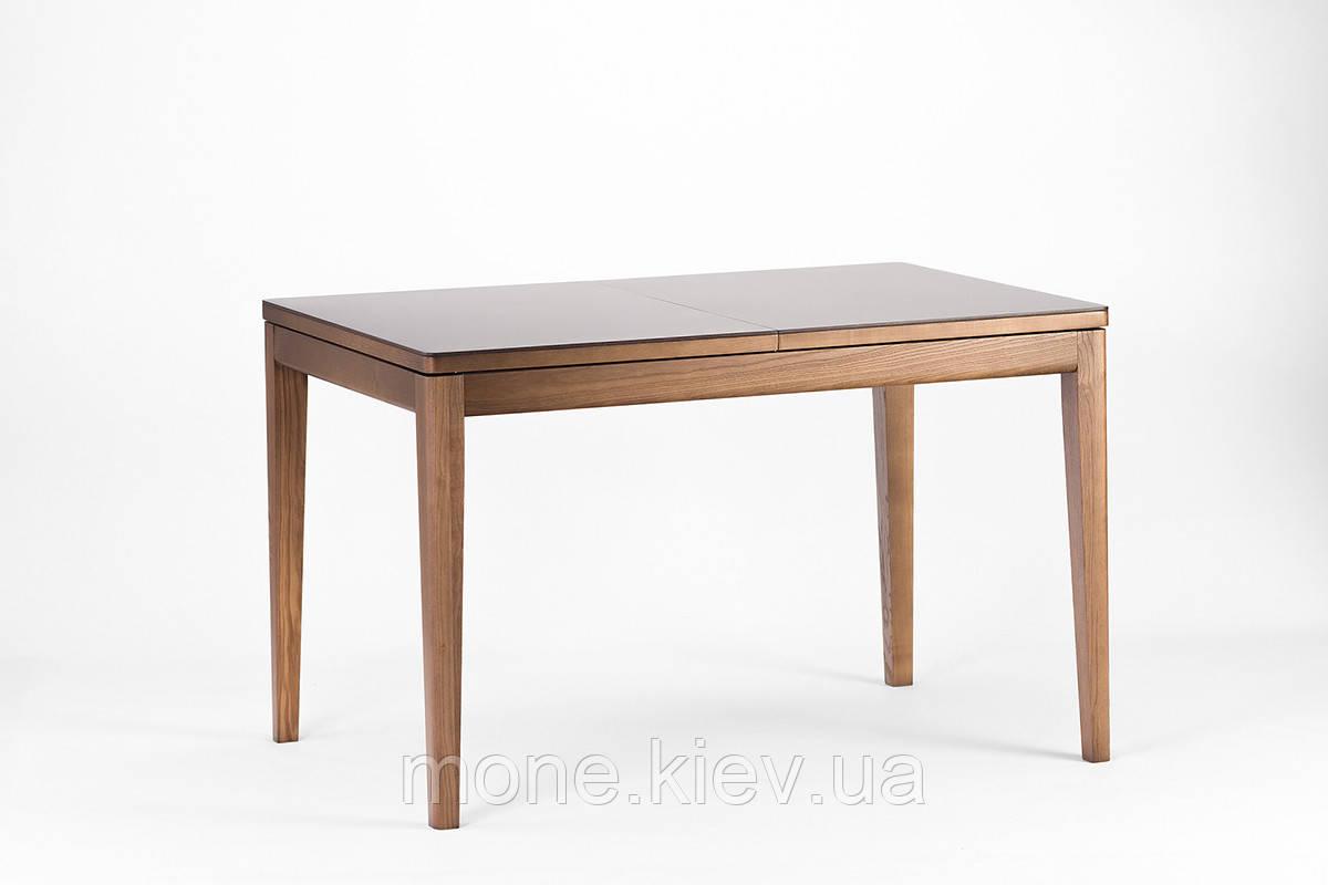 """Прямоугольный стол с камнем  """"Кристоф""""."""