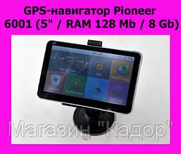 "GPS-навигатор Pioneer 6001 (5"" / RAM 128 Mb / 8 Gb)"