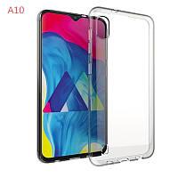 Ультратонкий 0,3 мм чехол для Samsung Galaxy A10 прозрачный