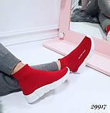 Женские кроссовки Balenciaga высокие текстиль. Очень удобные!, фото 2