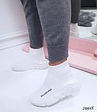 Женские кроссовки Balenciaga высокие текстиль. Очень удобные!, фото 7