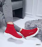 Женские кроссовки Balenciaga высокие текстиль. Очень удобные!, фото 3