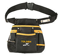 Сумка-пояс 11 карманов, держатели молотка, рулетки Профи Tolsen (80120)