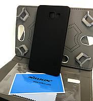 Чехол накладка для Samsung A7 2016, A710 на заднюю панель Nillkin 2016 и пленка