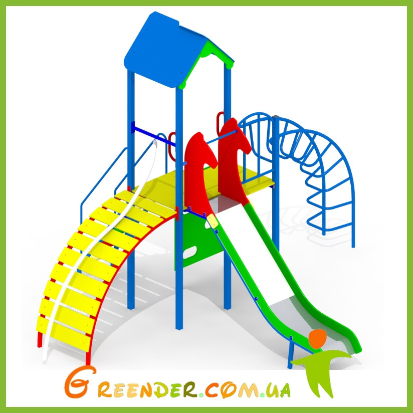 Детский игровой комплекс для улицы І103