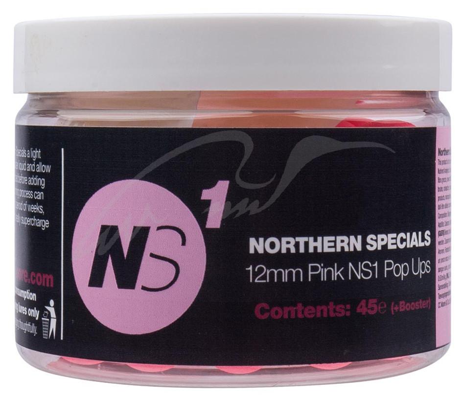 Бойлы CC Moore NS1 Pop Ups Pink 12мм (45 шт)