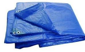 Тенты полипропиленовые плотность 60 г/м2 (Цвет синий)
